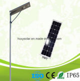 50W integró todos en una luz de calle solar del LED
