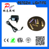 ABS material de armação de madeira Publicidade LED caixa de luz