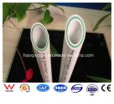Tubo de fibra de vidro PPR de plástico para abastecimento de água