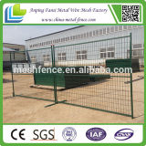 Bewegliches PVC Coated 6ftx10ft Kanada Temporary Fence