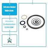 Bague d'étoupage en caoutchouc personnalisée d'outillage industriel de pièces d'auto d'injection en caoutchouc de silicones