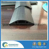 Capa de cabo de 3 canais Protetor de cabo de borracha