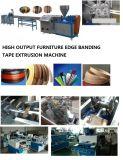 Plastikverdrängung-Maschine für die Herstellung des Belüftung-Rand-Streifenbildungs-Bandes