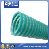PVC reforzado con espiral pesada manguera de succión de servicio con buena calidad