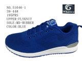 Nr 51046 de Blauwe en Schoenen van de Sporten van de Schoenen van Flyknit van de Mensen van de Marine