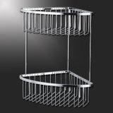 Вспомогательное оборудование ванной комнаты корзины ливня ванной комнаты металла крома (SUS304)