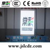 Visualizzazione di LED dell'interno di vetro di Transparen di alta definizione per la pubblicità di finestra