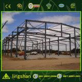 Edificio de marco de acero prefabricado del nuevo estilo 2016