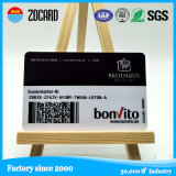 Smart card do código de barras da sociedade do PVC da alta qualidade