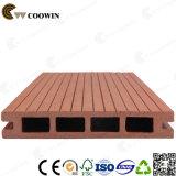 Junta hueca plataformas de material compuesto de madera