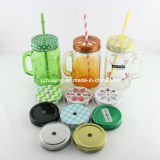 16oz 450ml Labeling Glass Mason Jar mit Logo