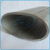 Tubos ovales elípticos de la talla grande del acero inoxidable