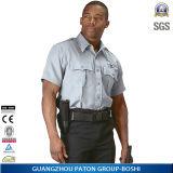 中国の長い袖の警備員のユニフォームのワイシャツ