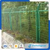 Frontières de sécurité de treillis métallique de bâti de fer de villa de qualité