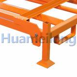 Lager-Stahlspeicher-Ladeplatten-Gummireifen-Zahnstange