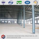 Construction légère d'entrepôt de bâti en métal