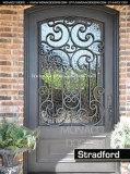 Hand-Crafted kundenspezifische bearbeitetes Ioneneinzelne Türen