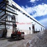 Hangar erguido del acero prefabricado/vertido