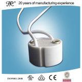 白いカラーのLEDの陶磁器GU10ソケット
