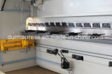 Wc67k 63t/2500 hydraulische Presse-Bremse für verbiegende Stahlplatte