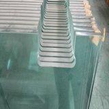 el vidrio Tempered de la seguridad del claro de 8m m consolidó para la aplicación de los muebles