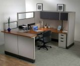 Modèle personnalisé moderne de Tableau de bureau de partitions de compartiments de modèle de Tableau de bureau pour la personne 4 (HY-C1)