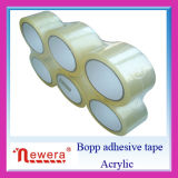 BOPP claros se aferran cinta adhesiva del embalaje de Sello para el uso del lacre
