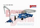 Заграждение 18m малого передвижного спайдера качества 13m 15m 17m гидровлическое конкретное устанавливая с хозяйственным ценой