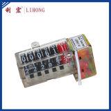 100: 1 Kinetik richtete Typen Kostenzähler, Plastikmeßinstrument-Register, einphasig-Jobstepp-Kostenzähler auf