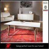 Sofa-seitlicher Tisch MDF-hölzerner Frauen-Bronzeskulptur-Kaffeetisch