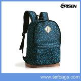 Sac d'école en nylon de sac à dos de polyester pour des élèves d'école