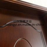 La plus défunte porte intérieure de pièce de Chambre en bois solide du modèle HDF de Diacount
