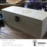 Casella di legno dell'annata di Hongdao con il divisore per l'imballaggio di alimento o del tè