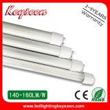 160lm/W, tubo di T8 1200mm 20W LED con 5 anni di garanzia