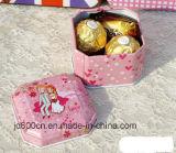 De kleine Doos van het Tin/de Doos van Weddy van het Tin/de Aangepaste Doos van de Gift van het Tin Doos keuren/de Kleine Doos van het Tin voor Candybox goed