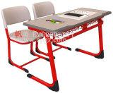 Estudiante doble desmontable Desk&Chair de la venta 2015 de escuela de la sala de clase caliente de los muebles