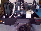 Ingersollのランドの/Doosanのディーゼル駆動機構携帯用ねじ空気圧縮機、携帯用空気圧縮機(C185)