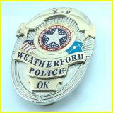 Gold überzogenes Qualitäts-amerikanisches Oklahoma-Militär-Abzeichen