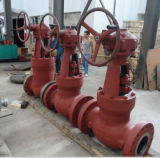 High-performance 900lb 10 '' API Wc6 Bevel Gear Gate Valve