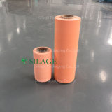 película do envoltório da ensilagem da laranja de 250mm*1500m