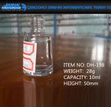 10のMlは敏感ガラスマニキュアのびん形の異なる