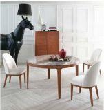 Mesa de jantar de pedra natural / mármore com forma redonda