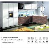 Colore di lucentezza di alta qualità che vernicia l'armadio da cucina completo (ZH-6025)