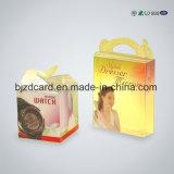 Caixa Foldable desobstruída do empacotamento plástico do PVC da venda direta da fábrica