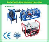 Machine de soudure en plastique de fusion hydraulique de bout de Sud250h