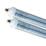 2400m m los 240cm los 2.4m 8 pies del LED del tubo de la luz T8 LED de la lámpara de Ce RoHS del tubo