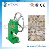 Making Small Cube Stones를 위한 모자이크 Stone Chopping Machine