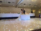 Waterproof Acrylic Starry Dancing Twinkling LED Starlit Dance Floor para Casamento