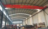Singolo Beam Overhead Crane con Electric Hoist, Schneider Vvvf Drive per il C.T. &L.T. Double Speed