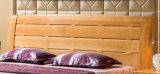 固体木のベッドの現代ベッド(M-X2247)